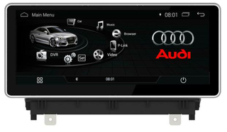 "10.25""Blu-ray Anti-glare Audi A3 MMI 2G 3G Car Stereo Multimedia Android Screen Mirroring AHD Camera Aux"