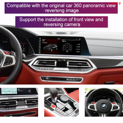 Android Car Stereo Multimedia Navigation for BMW X4 X6 MGU EVO ID7 System Built ZLINK Wireless CarPlay