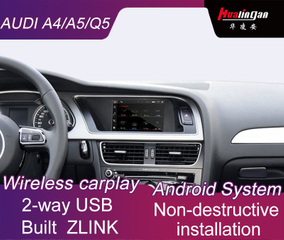 "Car In-Dash Navigation GPS for Audi A4 / Q5 / A5 MMI 3G 7"" Android BT transmitter / music video / USB / SD / WIFI / 4G"