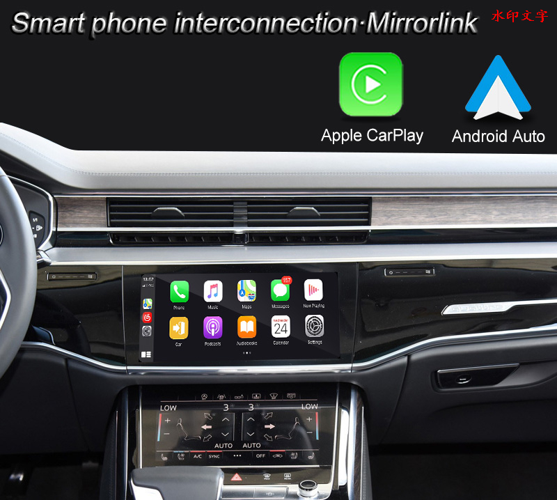 Android Car Multimedia Interface Adapter for Audi A6 S6 RS6 Wireless Carplay Andrio Auto Easyconnect Ect Functions